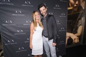 Armani Exchange_Andrea Andrassy i Igor Barberić